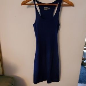 Mossimo Supply Co Blue Sleeveless Dress - M